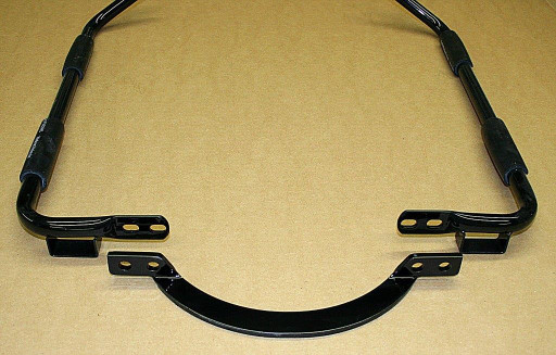 Harley saddle bag bracket