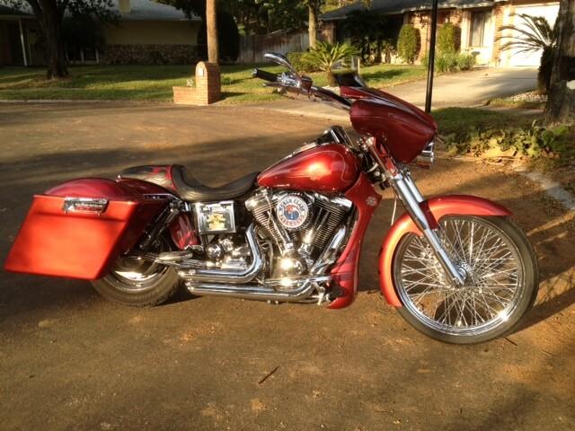 Sumax Saddle Bag Brackets for Dyna Harley Davidson® Models