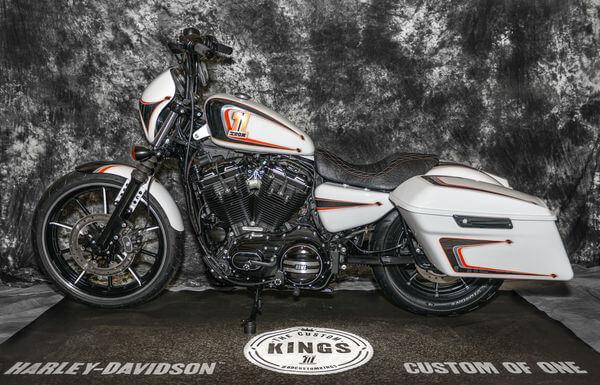Saddle Bag Brackets for Harley Davidson Sportster® Models 2000 and Up