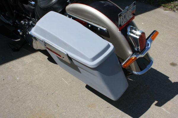 MILW8 Softail Saddle Bag Brackets