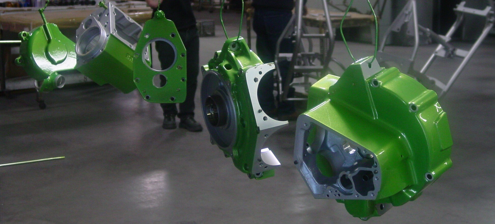 Powdercoating Motor Cases