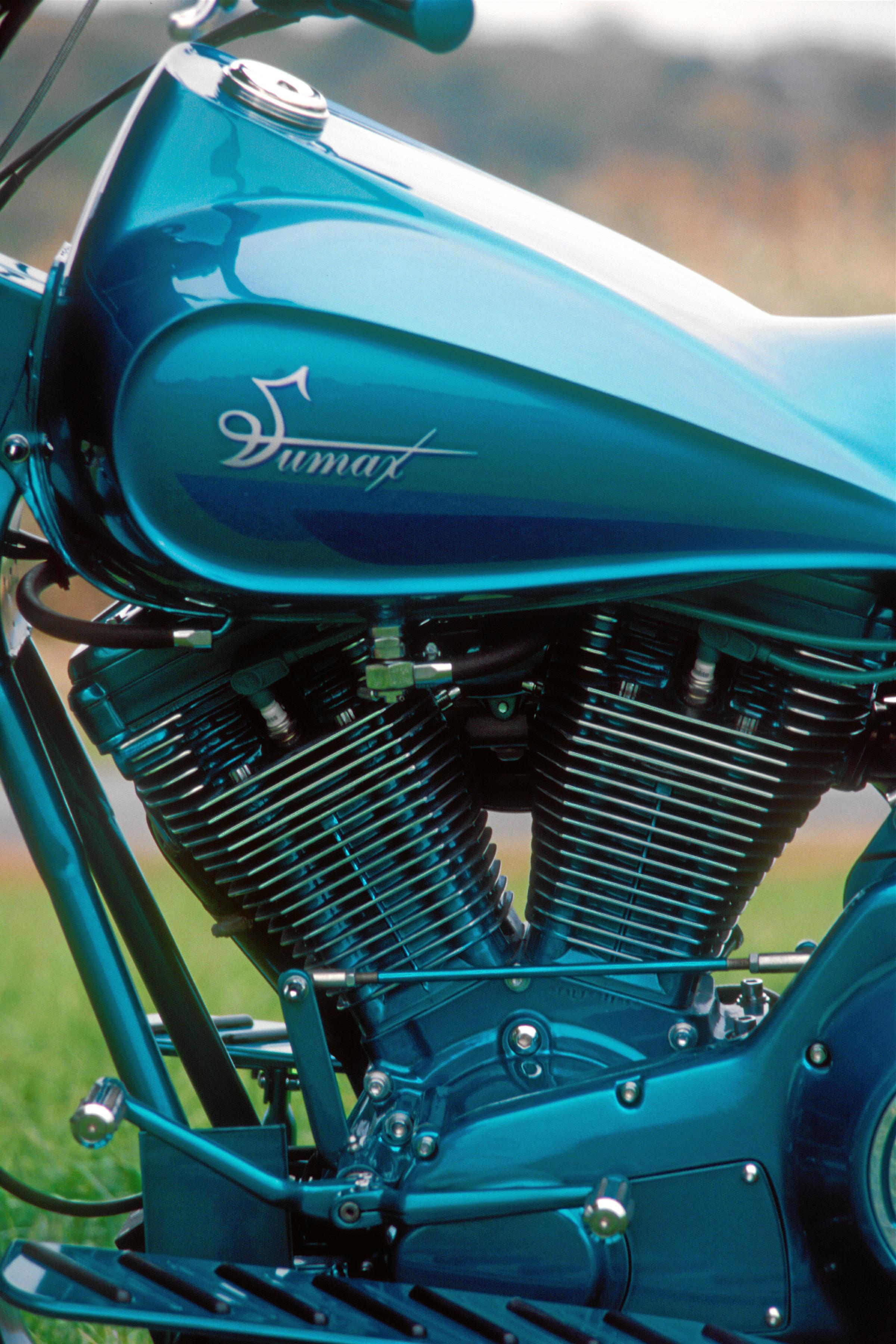 Powder Coating Harley Davidson® Evolution® Motors - Sumax