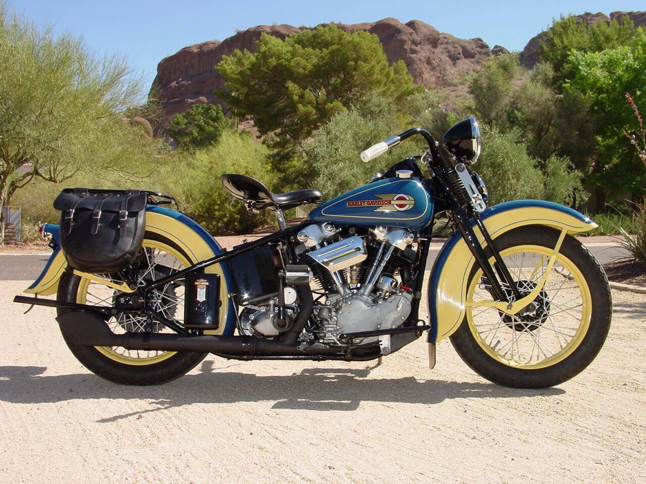 Harley Davidson: Powder Coating Harley Davidson® Knucklehead® And Panhead