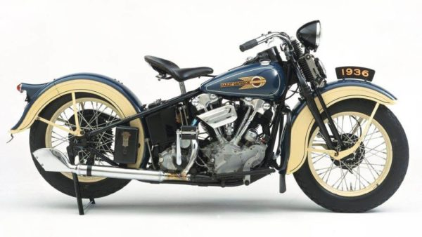 harley davidson knucklehead v twin engine