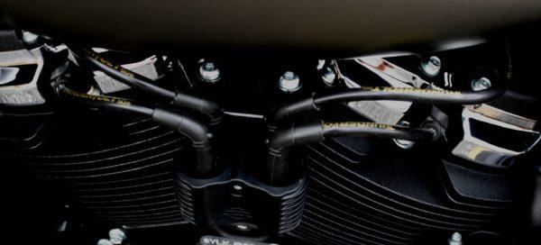 Thundervolt 10.4MM High Performance Universal Motorcycle Spark Plug Wires (Kit)