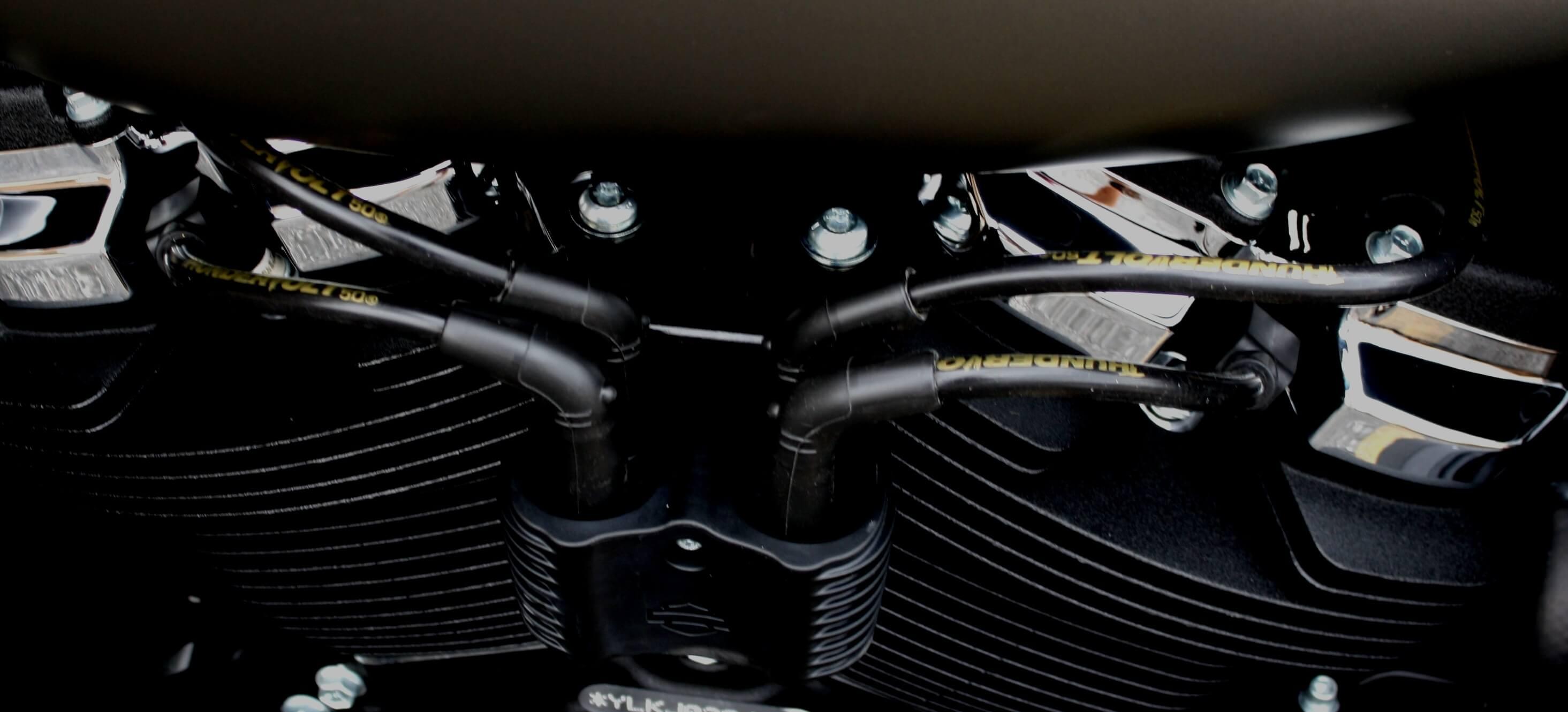 ThunderVolt 10 4mm High Performance Custom Spark Plug Wires (Kit) for  Harley Davidson®