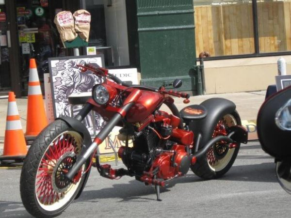 special effects powder coating motorcycles