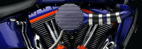 Powder Coating Harley Davidson Twin Cam Supercharged