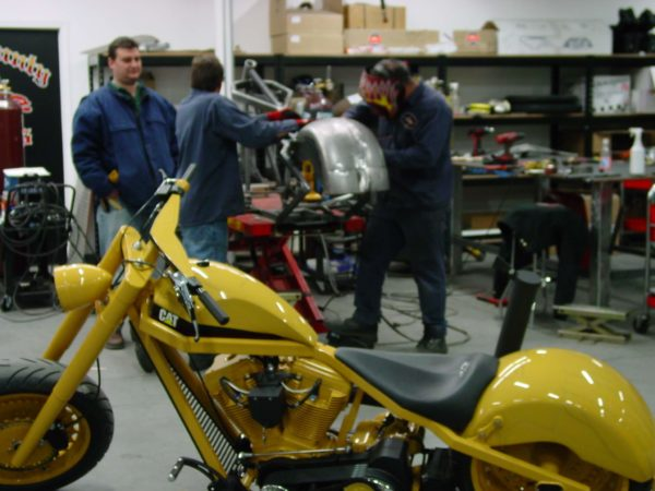 Powdercoating Motorcycles Sumax