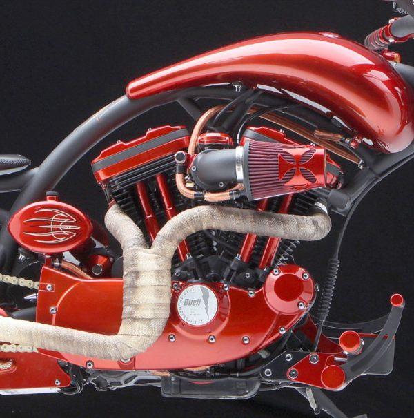 Harley Davidson Sportster Motors Powderc Cating