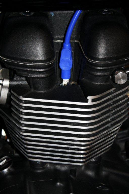 Triumph Spark Plug Wire Blu