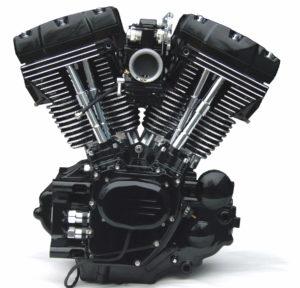 Powdercoating Twin Cam Motor Sumax