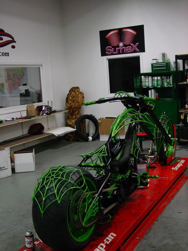 Powdercoating Bikes Sumax
