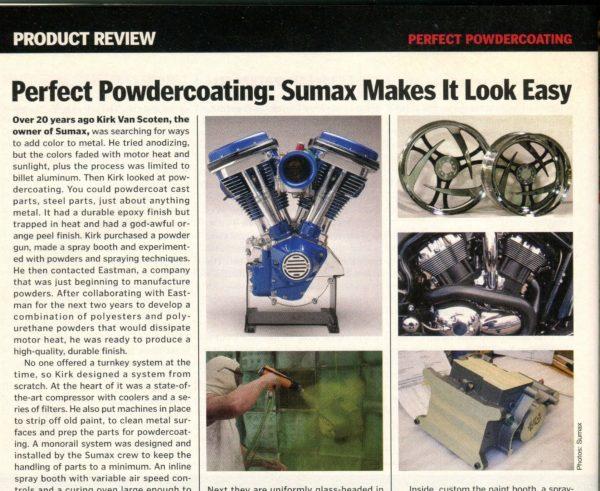 Shovelhead Motor Powder Coating Rome, NY