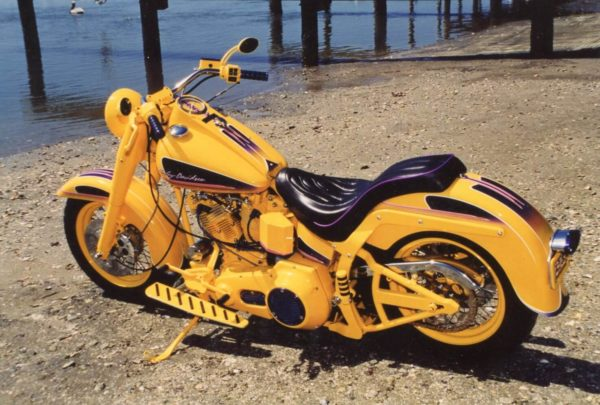 powdercoating Harley Davidson Shovelhead Motors