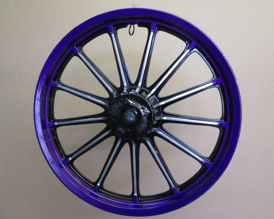 v rims powdercoating