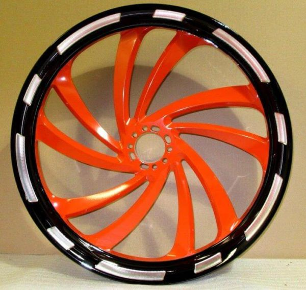 PowderCoating Motorcycle Rims